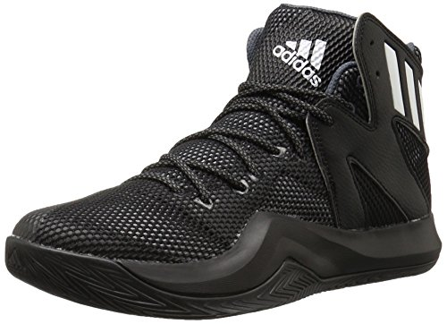 adidas Performance Men's Crazy Bounce Basketball Shoe, Black/White/Onix, 12 M US
