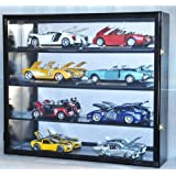 1 18 Scale Diecast Display Case Cabinet Holder Rack w  UV Protection- Lockable with... by sfDisplay