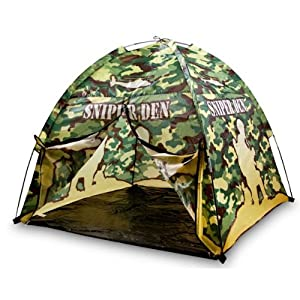 Kids Army Camouflage Sniper Den Play Tent - Camo Playtent from KAS