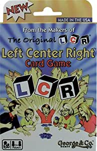 LCR® Left Center RightTM CARD GAME NEW!