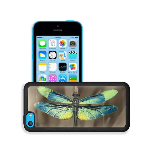 Insect Dragonfly Outdoor Nature Wings Closeup Apple Iphone 5C Snap Cover Premium Leather Design Back Plate Case Customized Made To Order Support Ready 5 Inch (126Mm) X 2 3/8 Inch (61Mm) X 3/8 Inch (10Mm) Liil Iphone_5C Professional Case Touch Accessories