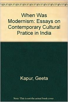 Essays on the moderns