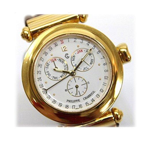 PHILIPPE CHARRIOL フィリップシャリオール クリストファー・コロンブス デイデイト メンズ腕時計 クオーツ [中古]