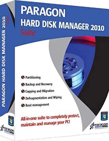 Paragon Hard Disk Manager 2010 Suite (previous version)