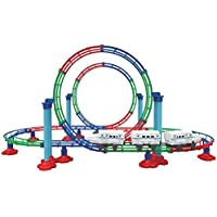 B/O Train & Carriages Coaster Grand Roller 112 Pieces Play Set