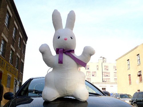 Buy 42″ GIANT 3 and 1/2 FEET TALL STUFFED BUNNY RABBIT – HUGE JUMBO BIG LARGE STUFFED ANIMAL – AMERICAN MADE IN THE USA AMERICA – PERFECT FOR EASTER DISPLAY (or Anytime) AND A GREAT GIFT TOO – COLOR: WHITE