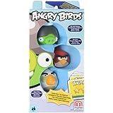 Angry Birds Red Bird, Gray Helmet Pig, White Bird Add On, 3 Pack