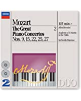 Mozart: The Great Piano Concertos Nos. 9, 15, 22, 25 & 27 (2 CDs)