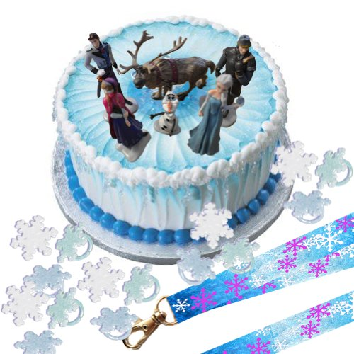 Frozen Cake Decor Uk : Disney Frozen Birthday Party Supplies WebNuggetz.com