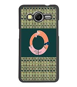 PrintDhaba GRANDbet O D-4147 Back Case Cover for SAMSUNG GALAXY CORE 2 G355H (Multi-Coloured)