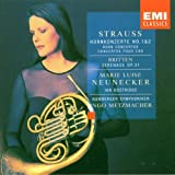 Strauss: Horn Concertos 1 & 2 / Britten: Serenade for Tenor, Horn & Strings ~ Richard Strauss