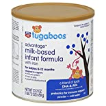 Rite Aid Tugaboos Advantage Infant Formula, Milk-Based, with Iron, 0-12 Months, 23.2 oz (1 lb 7.2 oz) 658 g