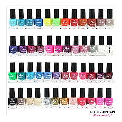 48 x Nail Polish -Set of 2 Boxes different Colours GREAT CHRISTMAS GIFT UK