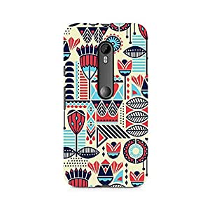 Mobicture Fusion Art Premium Printed Case For Moto X Force