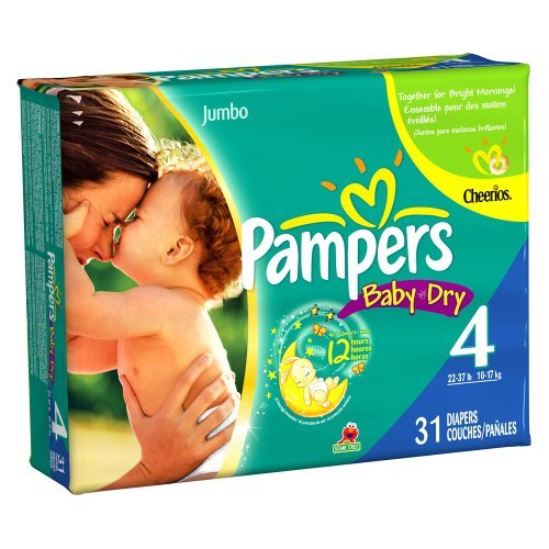 Pampers Baby Diapers Jumbo Count