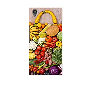 ArtzFolio Handbag Made From Different Fruits And Vegetables : OnePlus X Matte Polycarbonate Original Branded Mobile Cell Phone Designer Hard Shockproof Protective Back Case Cover Protector
