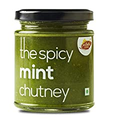AS CHEFS COOK The Spicy Mint Chutney