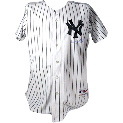 Bernie Williams Signed New York Yankees Authentic Home Jersey (Signed On Front) (Mlb Auth) front-864511