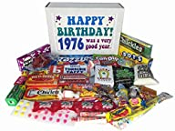 1976 40th Birthday Gift Basket Box Re…