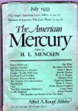 The American Mercury (The Ango-American Love Affair, Mormon Polygamy: The Last Phase)