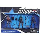 G.I. Joe The Viper's Pit Pack 50th Anniversary ~ Cobra Viper Officer, Beachhead & Cobra Trooper