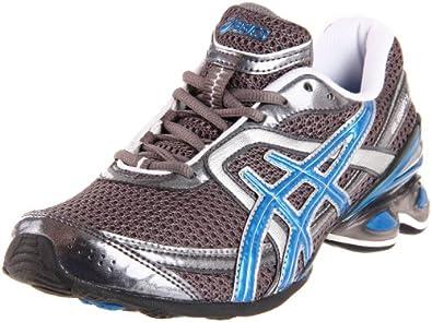 ASICS Women's Gel Frantic 6 Running Shoe,Charcoal/Blue Jewel/Silver,10 M US