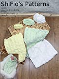 Knitting Pattern - KP133 - Baby Cocoon Papoose - Preemie, 0-3mths, 3-6mths