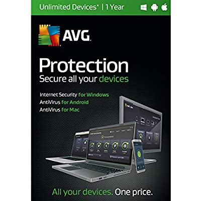 AVG Protection | Unlimited Devices | 1 Year Twister Parent