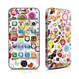 Apple iPhone 4用スキンシール【Eye Candy】