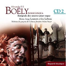 Boëly : Pange Lingua : L'année liturgique - Vol.2