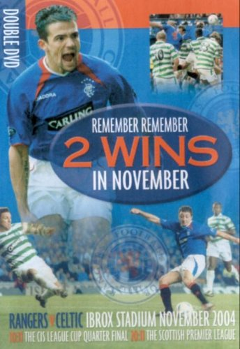 Rangers Fc: Remember Remember, The Two Wins In November [DVD]