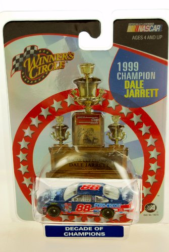 2003 - Action - Winner's Circle - NASCAR - Decade of Champions Series - 1999 Champion Dale Jarrett #88 - Ford Taurus - 1:64 Scale Die Cast - Limited Edition - Collectible