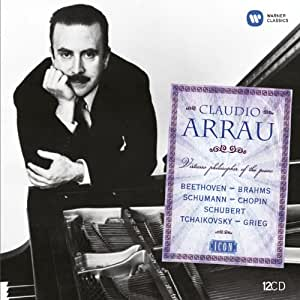Icon : Claudio Arrau (Coffret 12 CD)