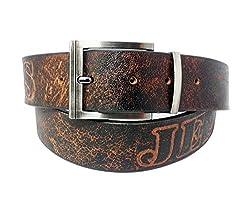Sanshul Men's Belt (Sa-98, Brown, 42)