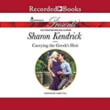 Carrying the Greek's Heir Audiobook by Sharon Kendrick Narrated by Camme Tyla