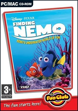 Finding Nemo - Nemo's Underwater World of Fun (Disney Pixar)(PC and MAC)