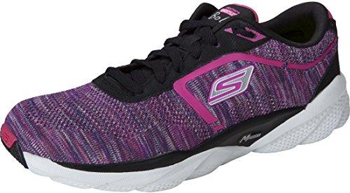 Skechers Go Run Bolt Womens Running Shoes Black/Multi 10