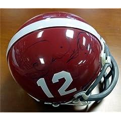 Derrick Thomas Autographed Hand Signed Alabama Mini Helmet PSA DNA #V09123