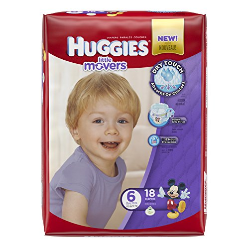 Huggies Little Movers Diapers - Size 6 - 18 ct - 1