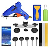 FLY5D 13Pcs DIY Car Body Dent Removal Repair Tools Pops a Dent & Ding Car Auto Damage Repair Puller Tool Kits
