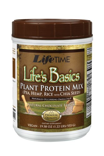 Lifetime Life's Basics Plant Protein Chocolate,