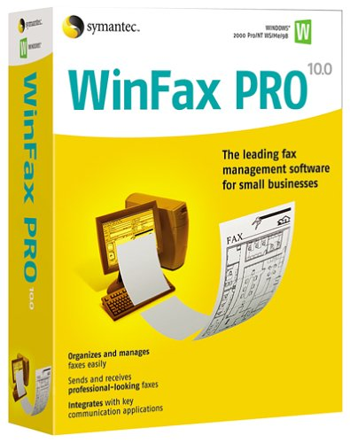Symantec WinFax Pro 10.02 - (5 Users)