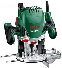Bosch POF 1400 ACE HomeSeries Oberfräse + Nutfräser (Ø 8 mm) + Absaugadapter + Koffer (1.400 W, max. 28.000 1/min)