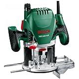 """Bosch Défonceuse """"Expert"""" POF 1400 ACE à régulation électronique constante, réglage de la profondeur de fraisage et éclairage, avec coffret 060326C800"""