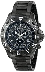 Men's Specialty Chronograph Two-Tone Steel Black Dial