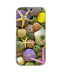 Pick Pattern Back Cover for HTC One (M8) (MATTE)