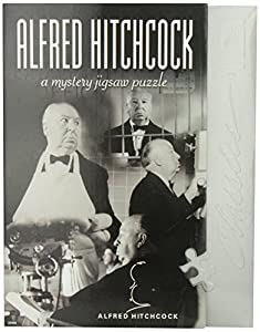 BePuzzled Classic Mystery 1000pc Jigsaw Puzzle - Alfred Hitchcock