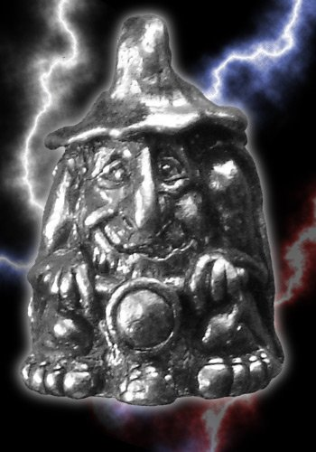 Gnome Guardian Biker Bell