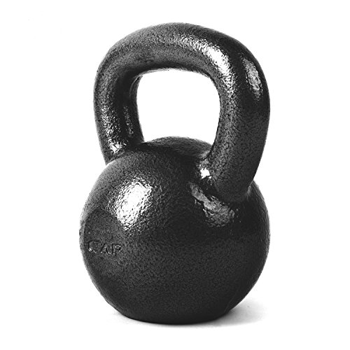CAP Barbell Cast Iron Kettlebell, 70 lb/Medium (Motion Kettle compare prices)
