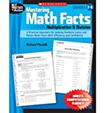 img - for Mastering Math Facts: Multiplication & Division: Grades 3-6 (Best Practices in Action) (Paperback) - Common book / textbook / text book